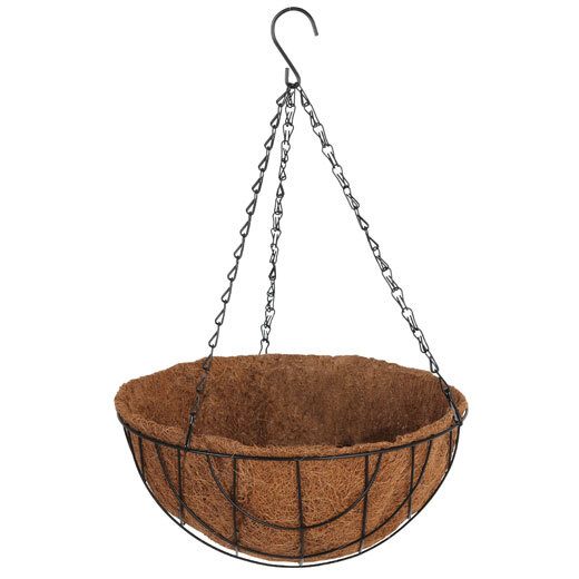 Hanging Plant Baskets & Liners