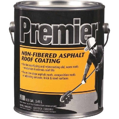 Premier 1 Gal. Non-Fibered Asphalt Roof Coating