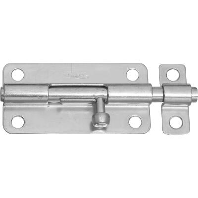 National 4 In. Zinc Steel Door Barrel Bolt