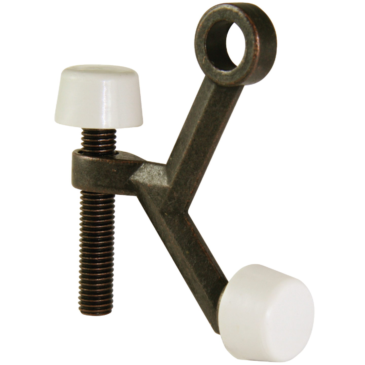 Ultra Hardware 3 In. Oil Rubbed Bronze Hinge Pin Door Stop Image 1