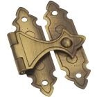 National Catalog V1840 Antique Brass Decorative Catch (2-Count) Image 1
