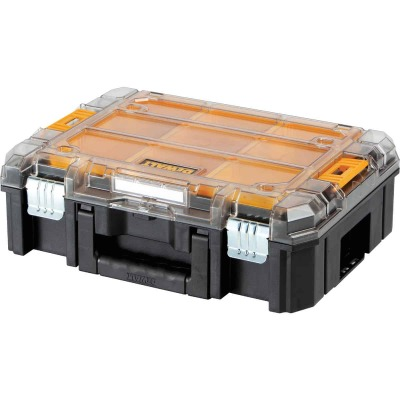 Dewalt TSTAK V 13 In. W x 5.75 In. H x 17.25 In. L Small Parts Organizer with 9 Bins