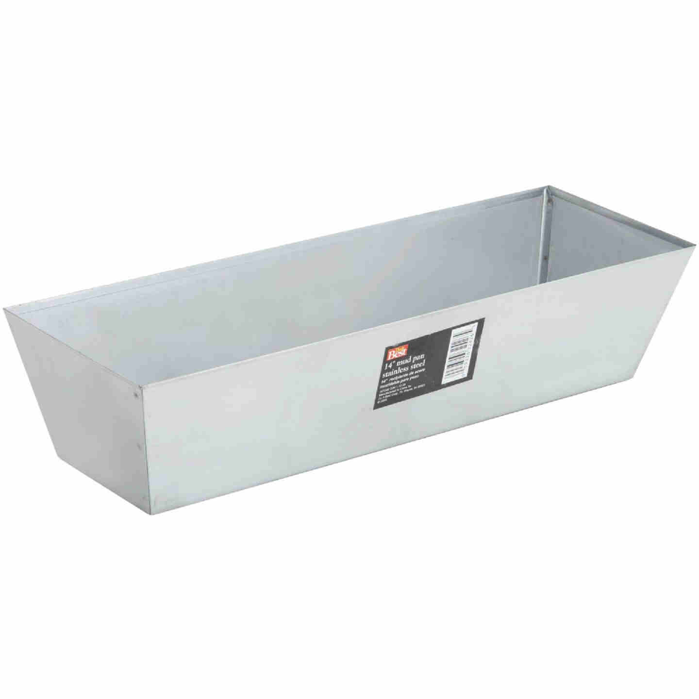 Do it Best 12 In. Stainless Steel Mud Pan Image 3
