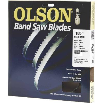 Olson 105 In. x 1/2 In. 3 TPI Hook Flex Back Band Saw Blade